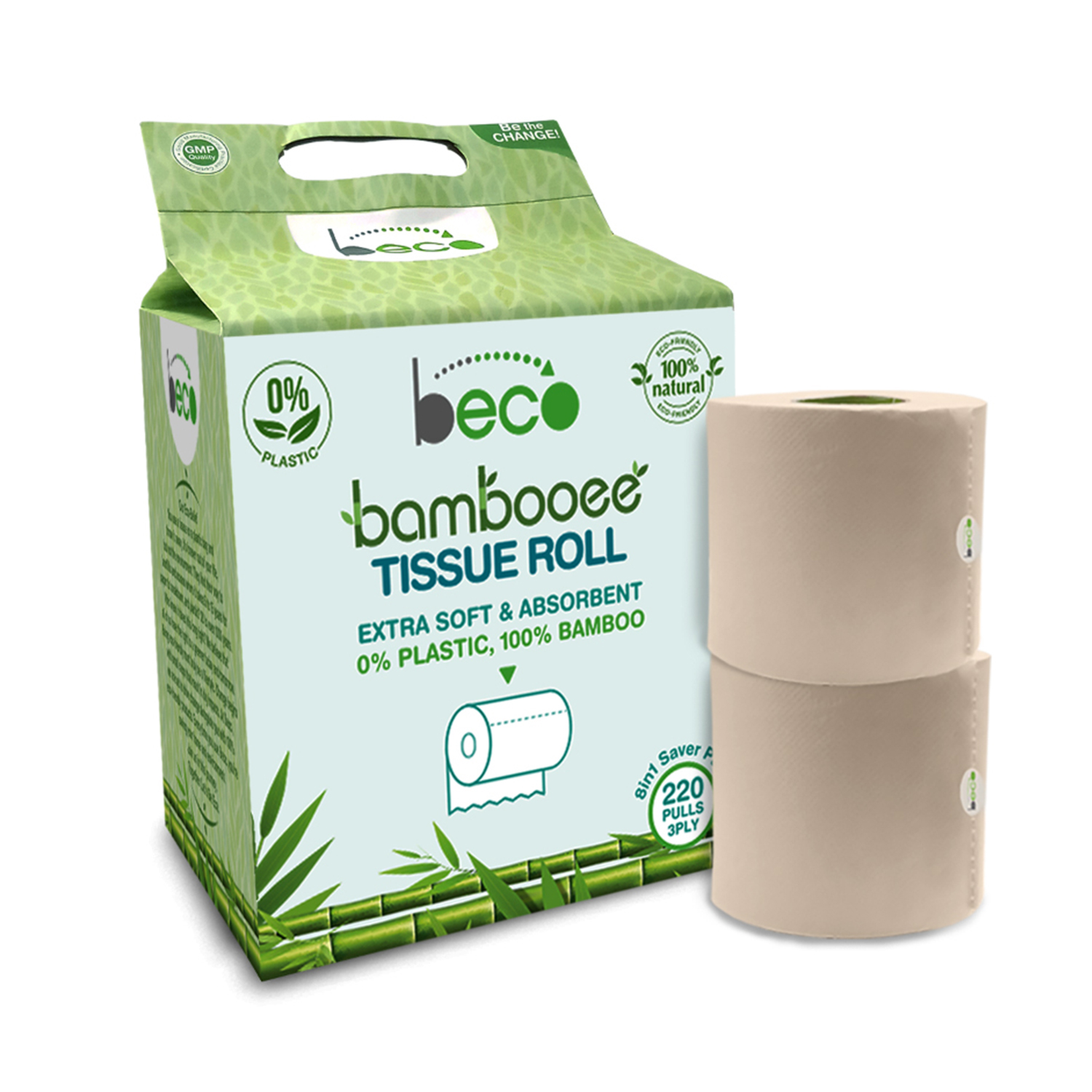 Beco bamboo tissue roll