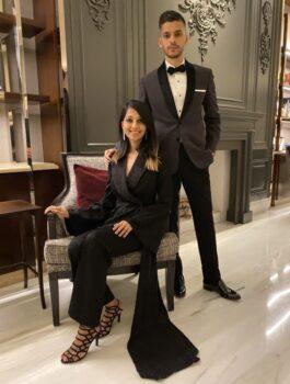 Sarah & Sandeep Press Image