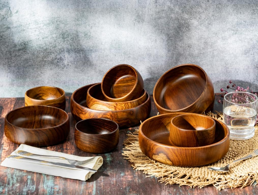 BARO Wooden Bowl Collection