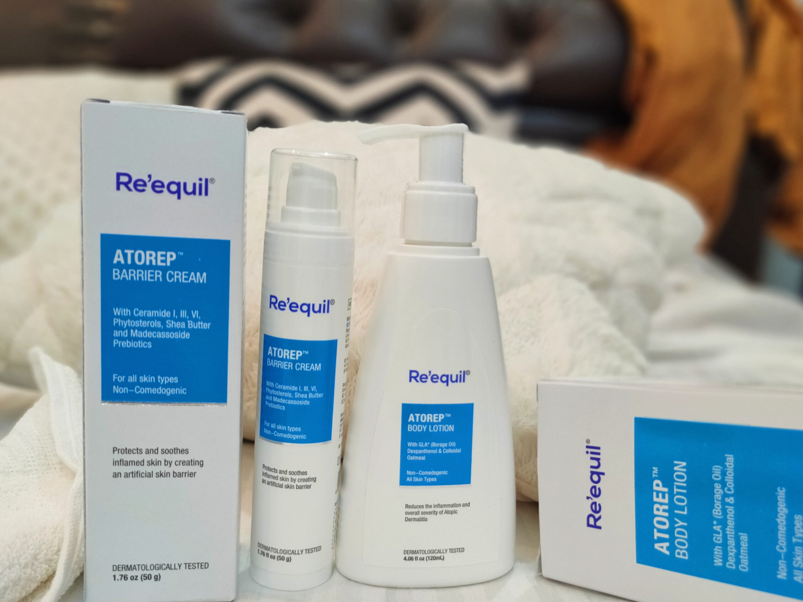 Re'equil Atorep Body Lotion and Barrier Cream Review