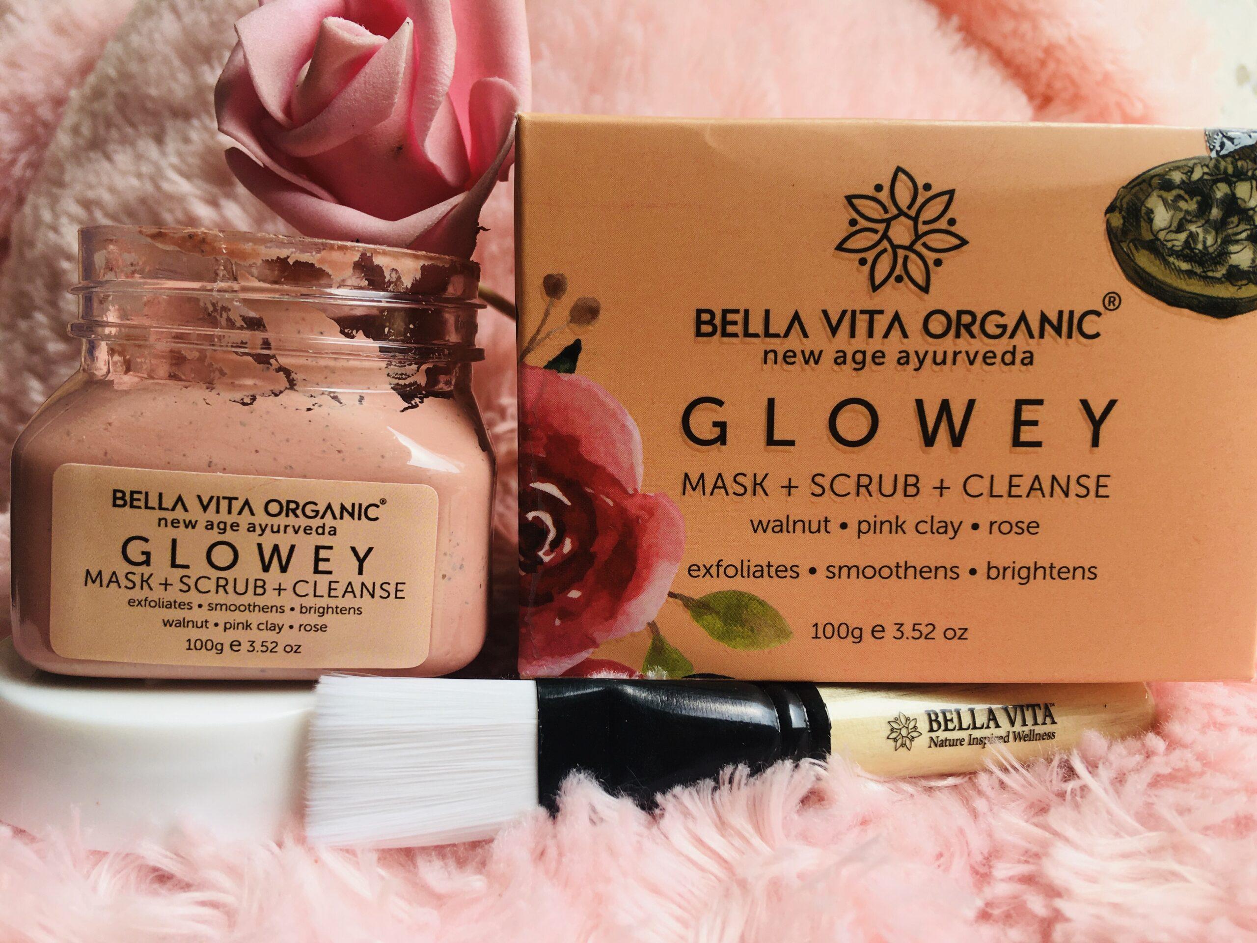 Bella Vita Glowey Mask+Scrub+Cleanse Review