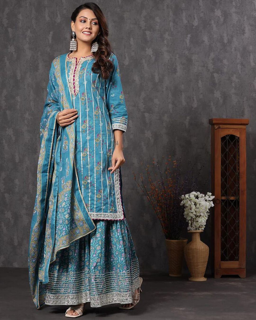 Discover Latest Sharara-Gharara Focused Labels to Create an Iconic Traditional Look