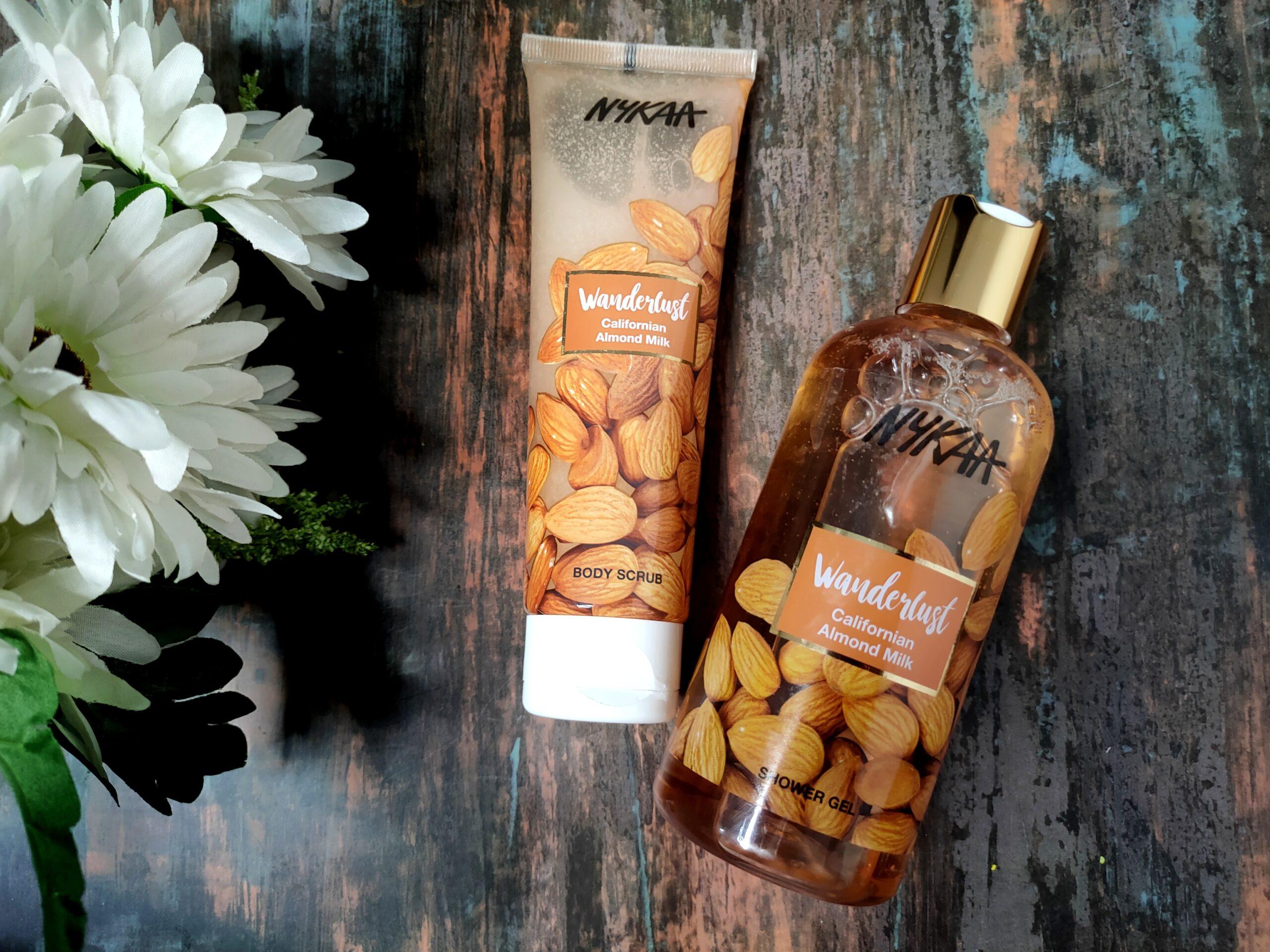 Nykaa Wanderlust Californian Almond Milk Range Review