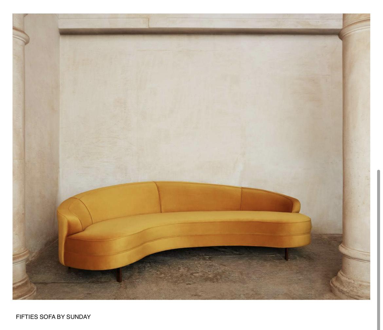 Fifties Sofa By Sunday Delhi