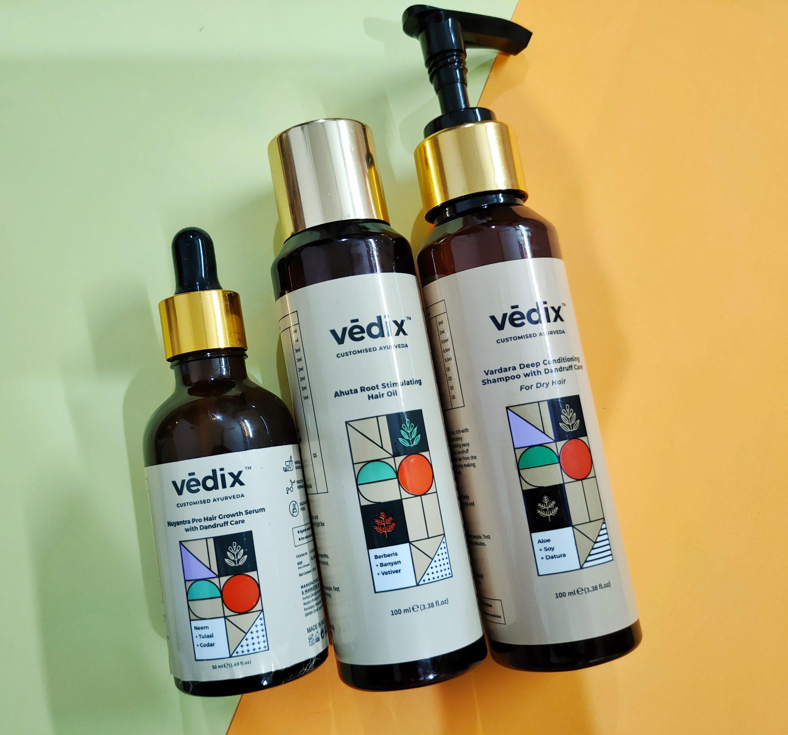 Vedix Customized Ayurvedic Haircare Regimen Review