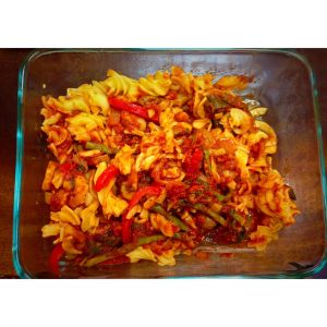 gluten-free veggie pasta