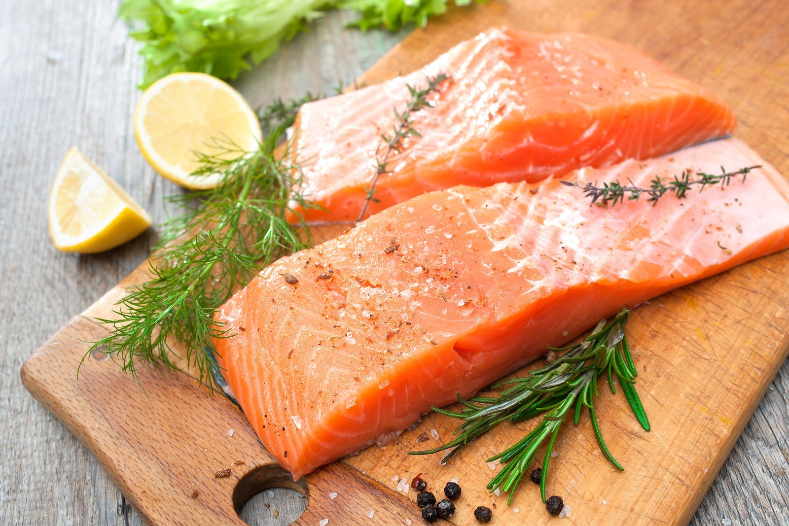 salmon, omega-3, healthy fat, nutritious, vitamin A