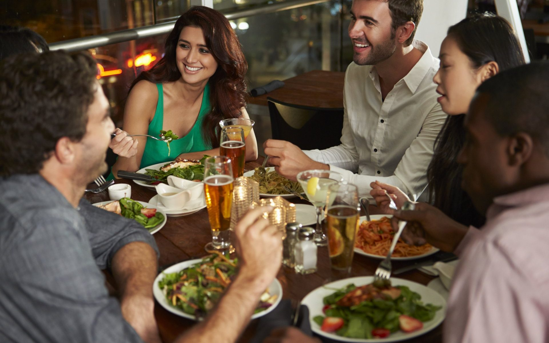 local and healthy restaurants