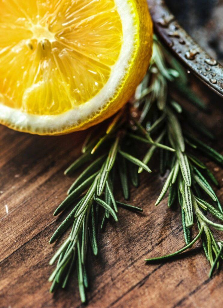 Rosemary, egg bake, breakfast, herbs