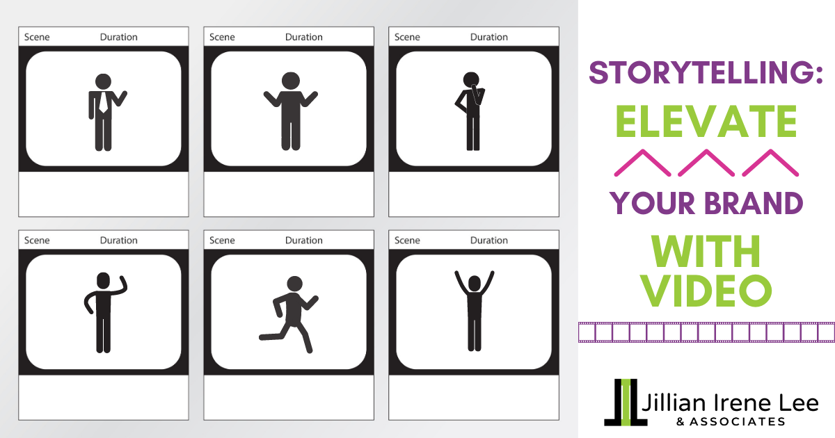 storytelling - storyboard graphic