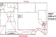 2nd floor lease area