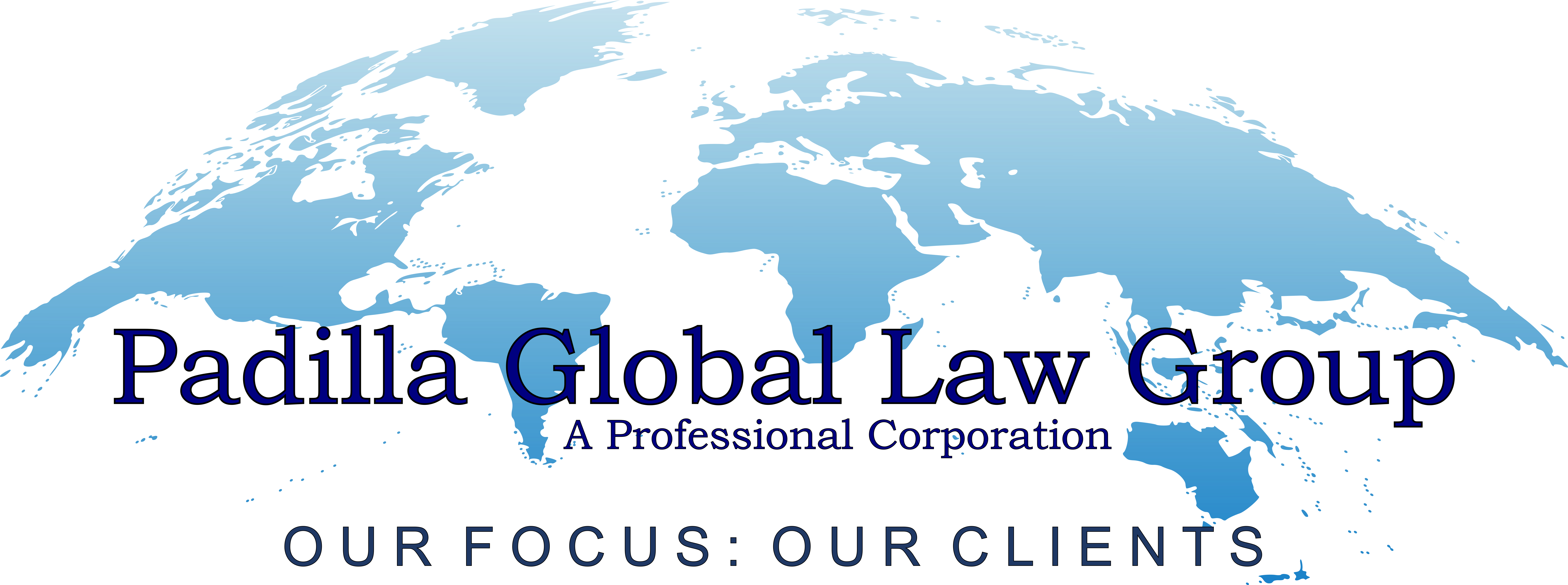 Padilla Global Law Group Logo, Immigration and Family Law