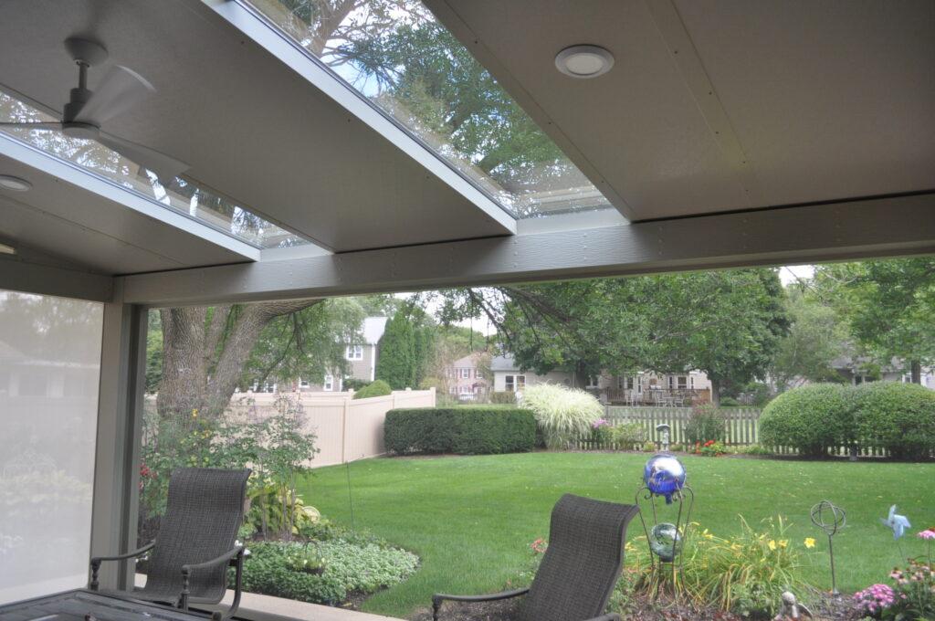 Screen Room and Skylights