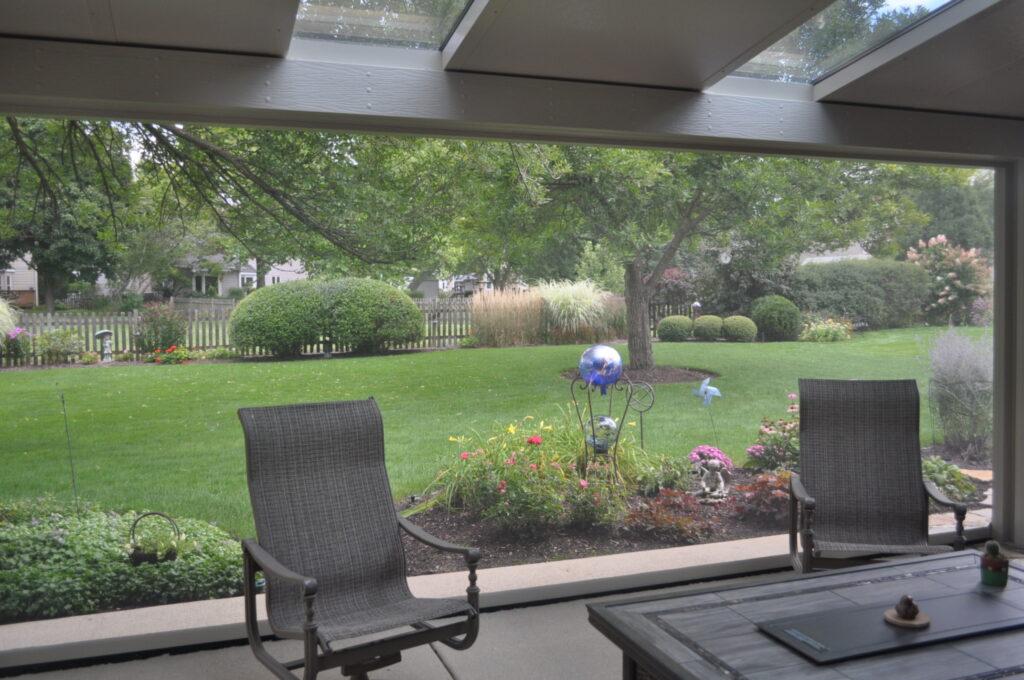 Screen Room and Backyard