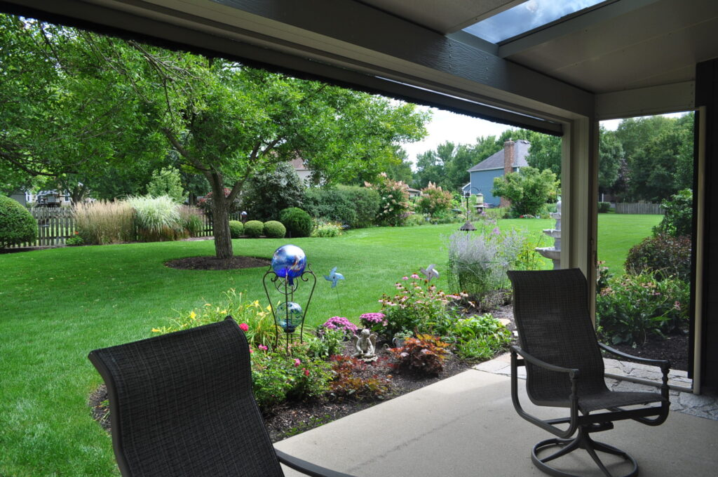 Landscaping and Screen Room