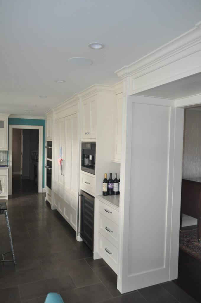 Kitchen wine cooler