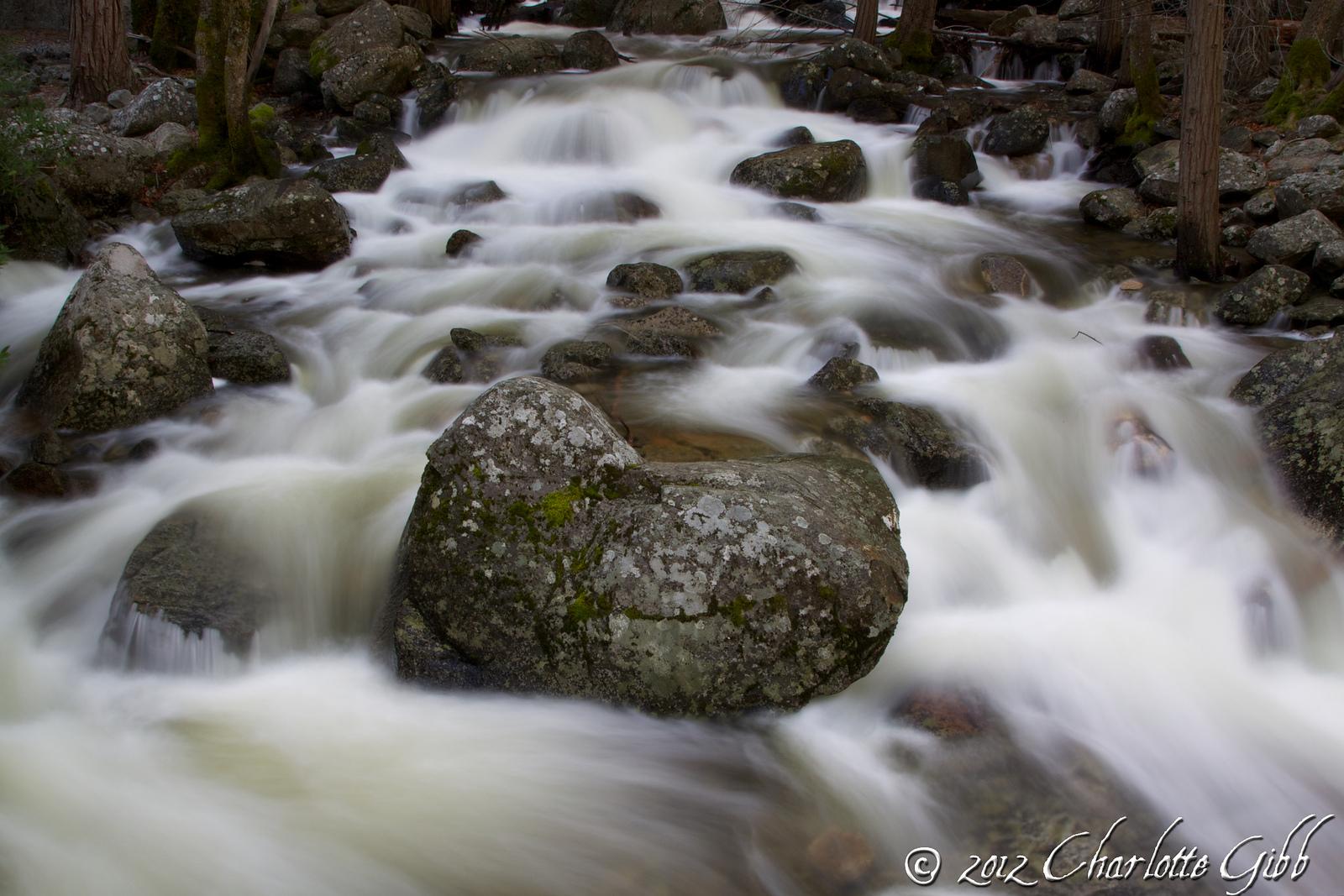 Bridalveil Falls Rapids