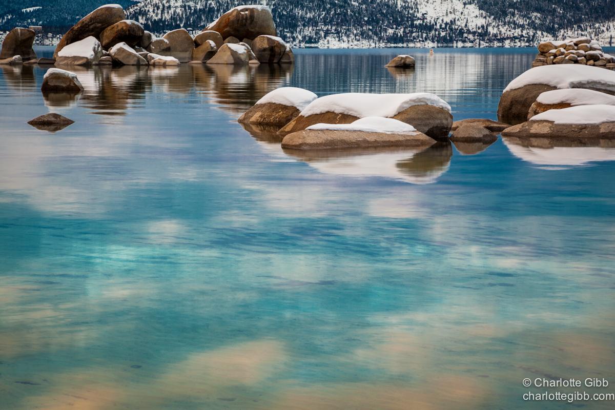 Lake Tahoe Aqua Winter