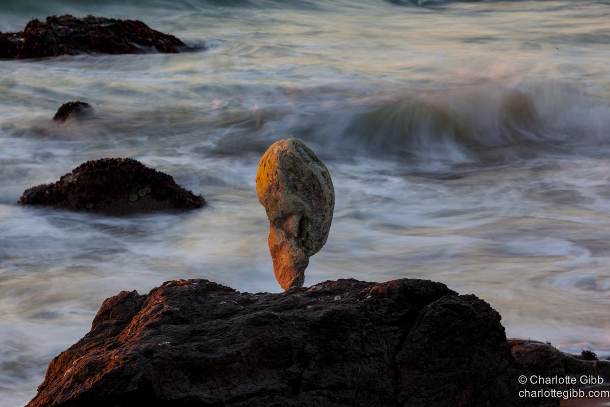 Rock Balance with Surf