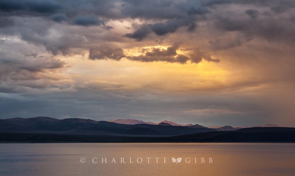 Mono Lake Storm, July, 2014
