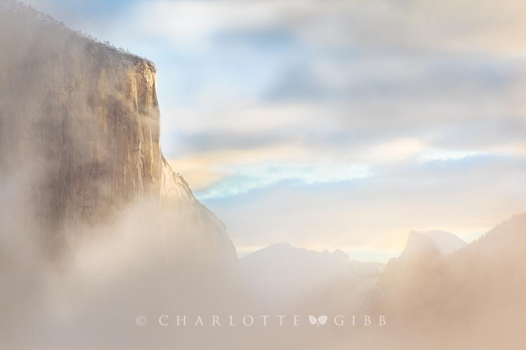 El Capitan, Misty Morning, February 2014