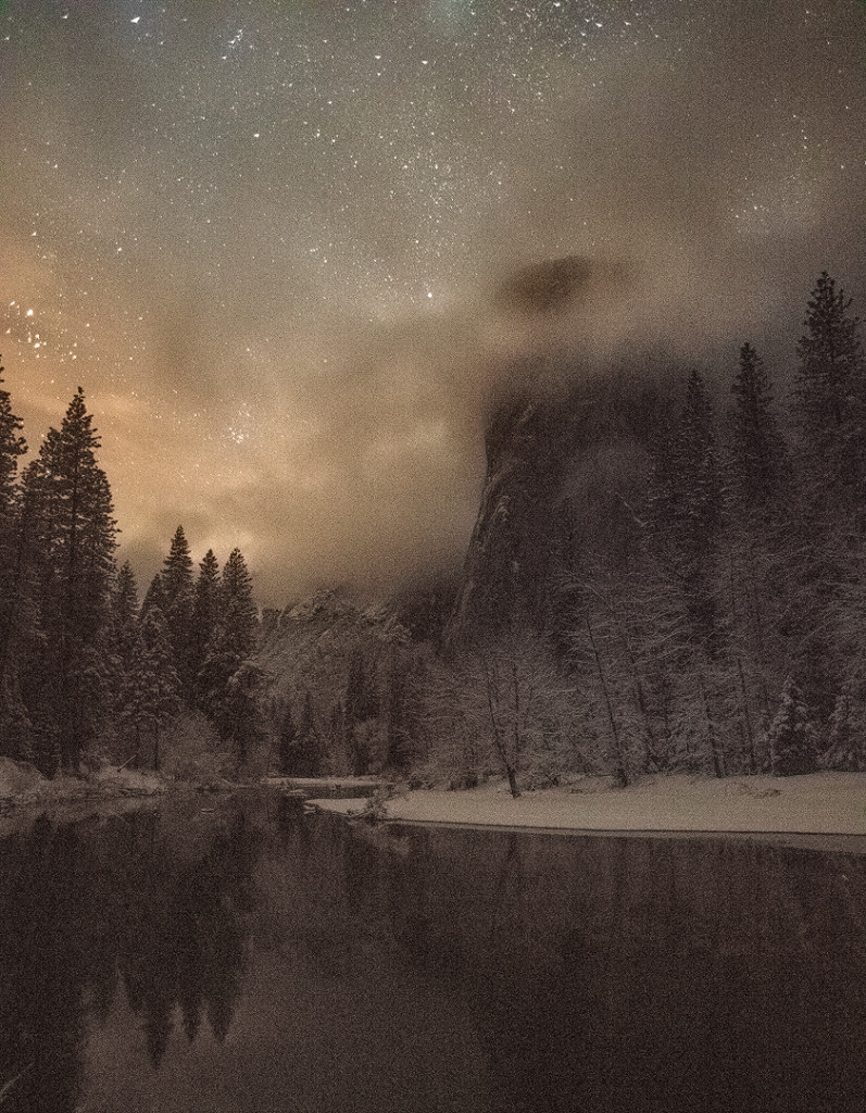 """""""El Capitan Winter"""", January 31, 2016, Yosemite"""