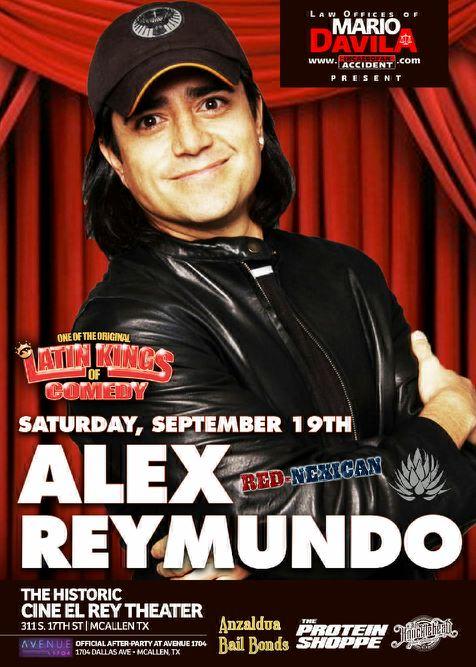 Alex Reymundo Cine Rey