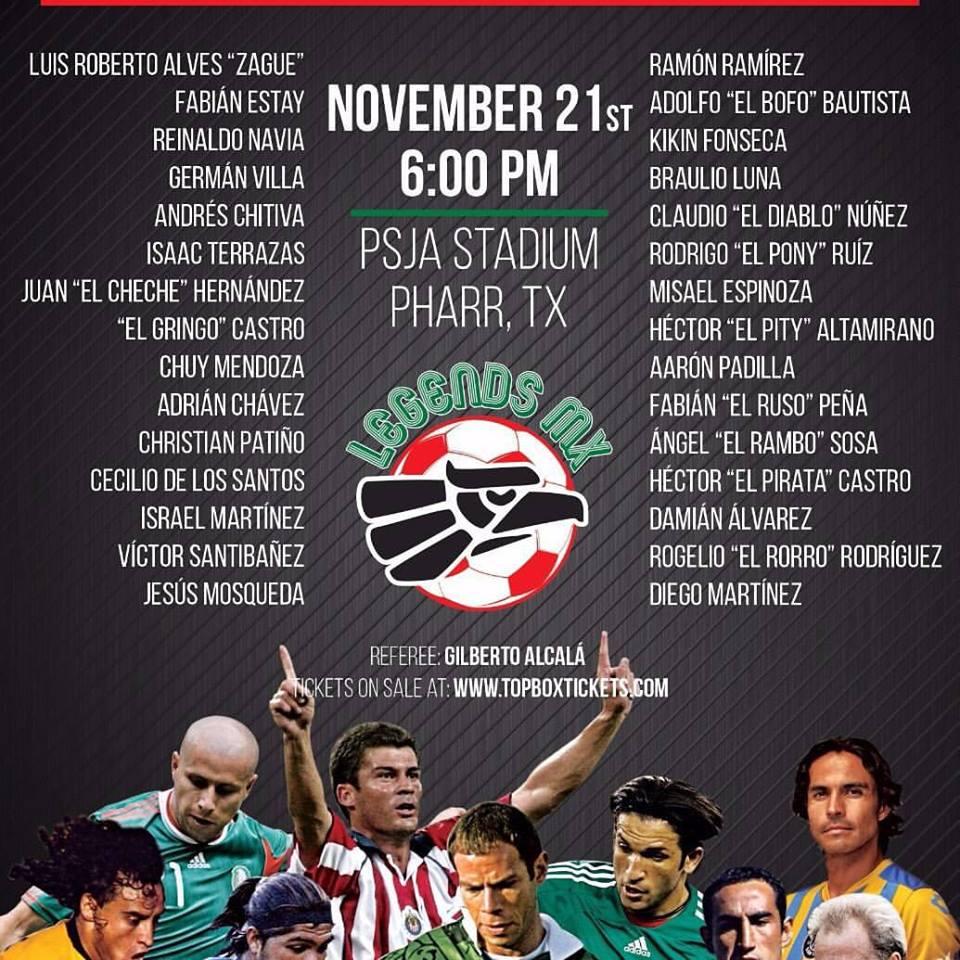 Legends MX Final Poster