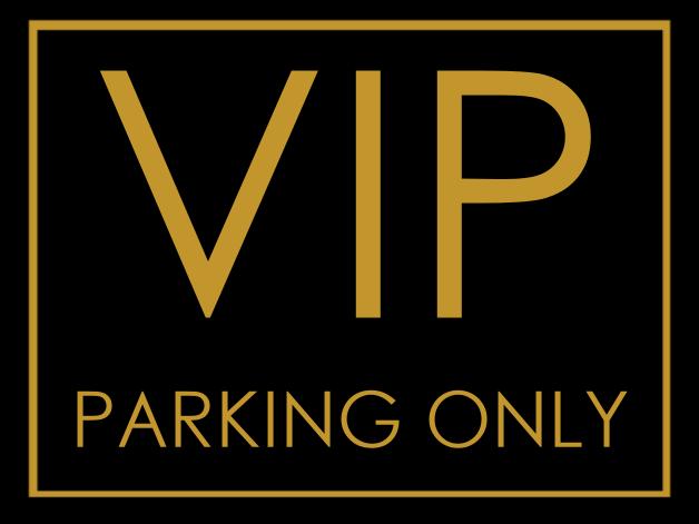 VIP Parking Button