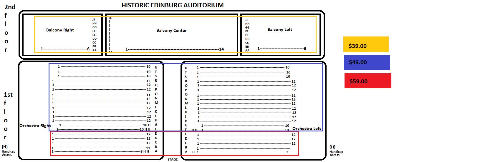 Pricing Layout Sheet