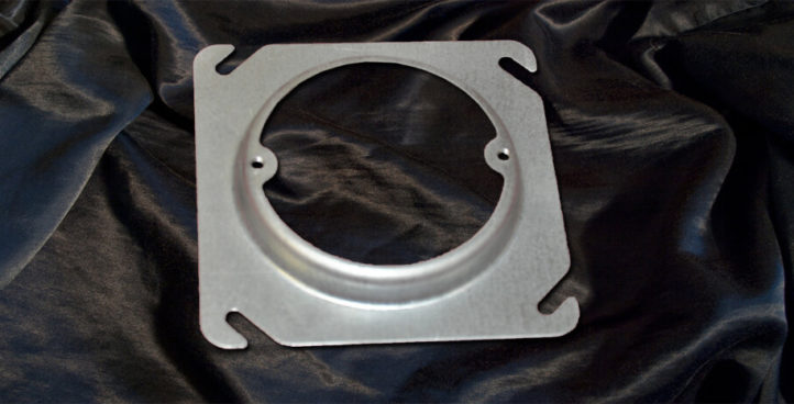 4`` Square to Round Plaster Rings