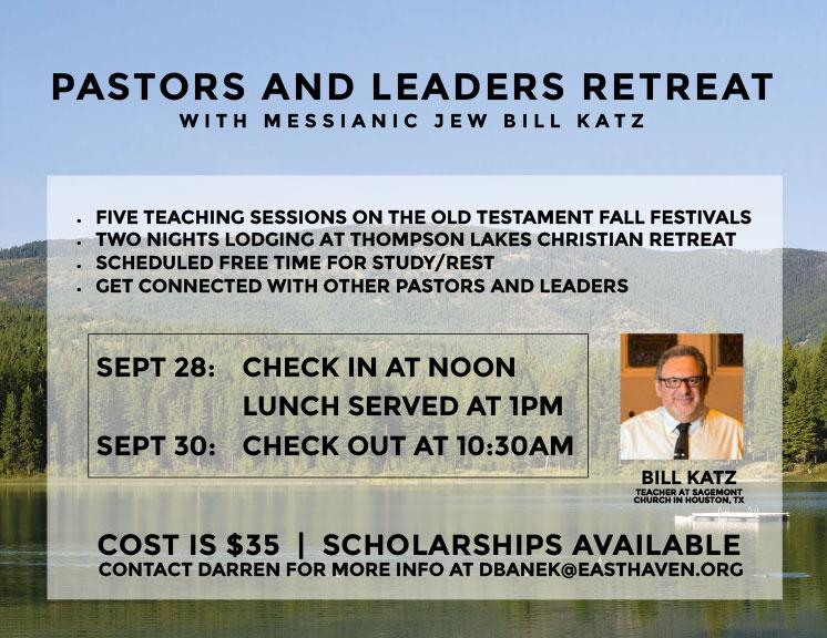 Pastors and Leaders Retreat