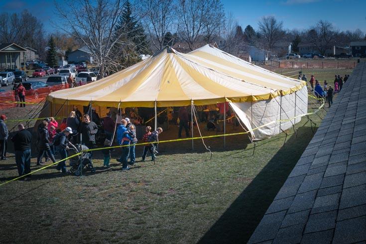 Evangelism Tent