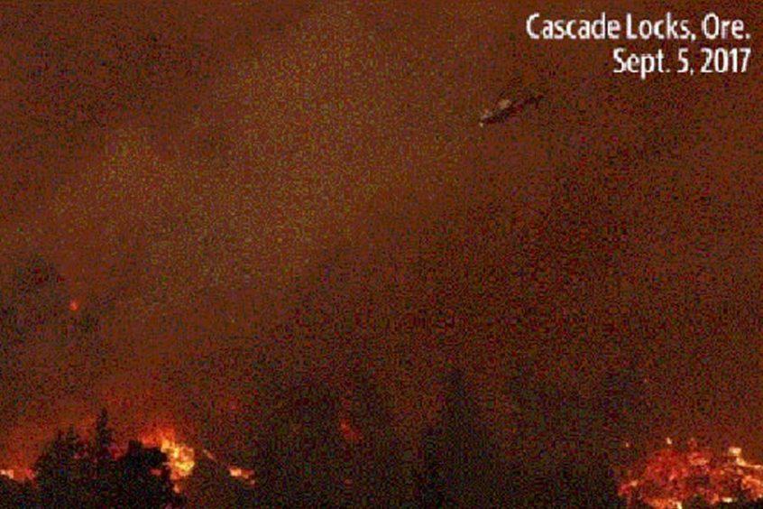 Cascade Fire, Montana