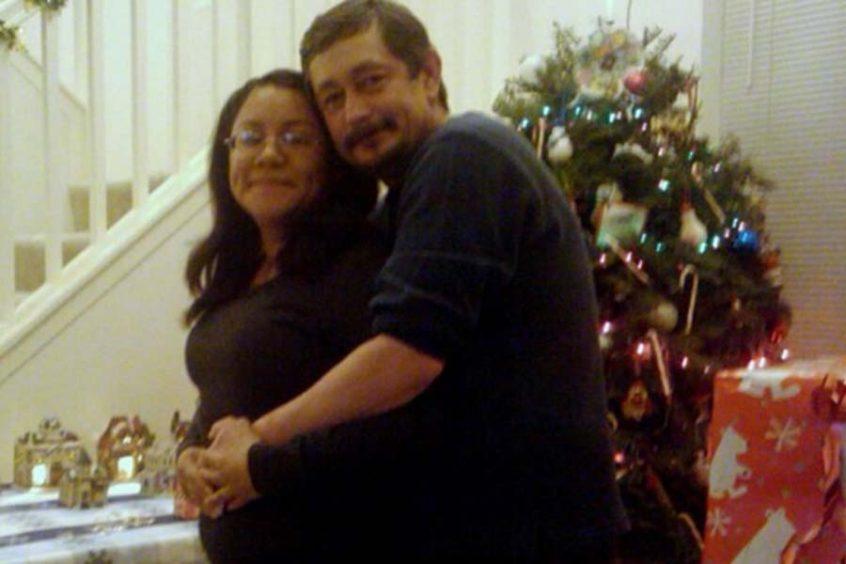 Bob Keele and his wife, Dahlia