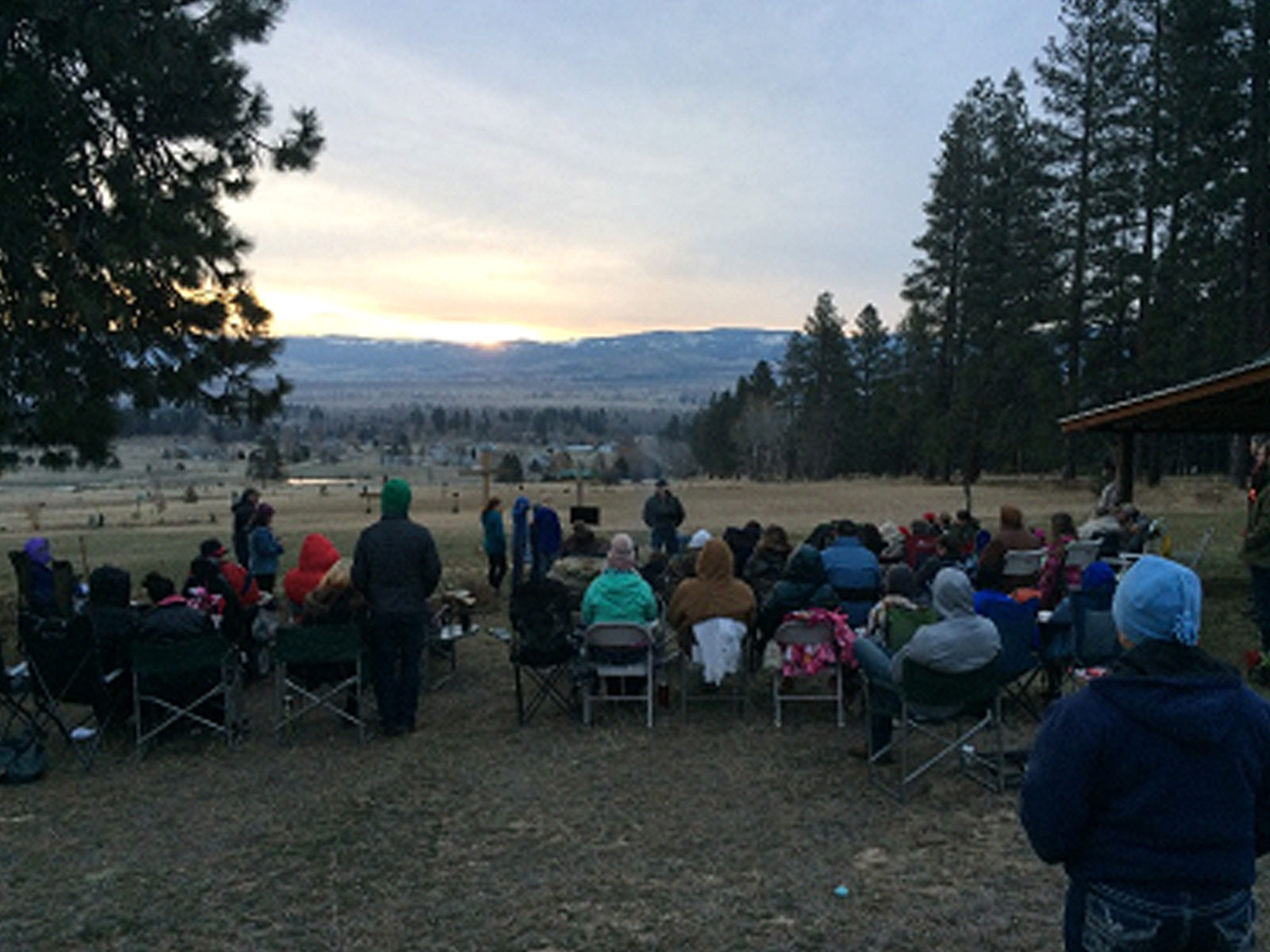 Easter in Montana, 2018