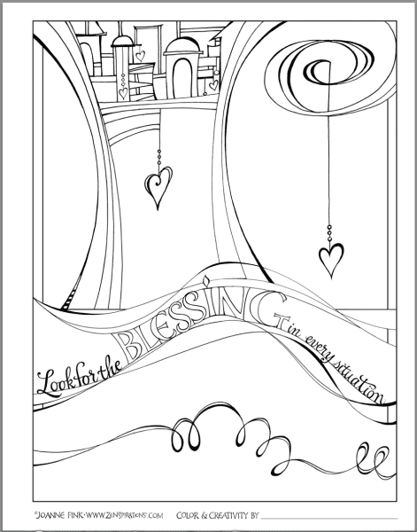Zenspirations_by_Joanne_Fink_blessings_coloring_book_page