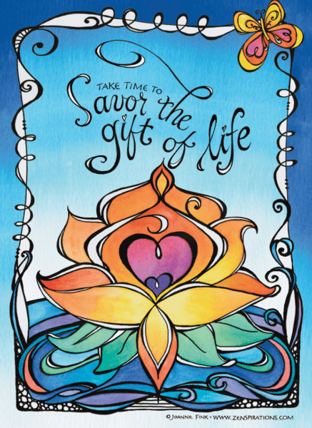 Zenspirations®_by_Joanne_Fink_June_7_16_Blog_Savor_Lotus