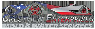 Crestview Mold & Water Logo