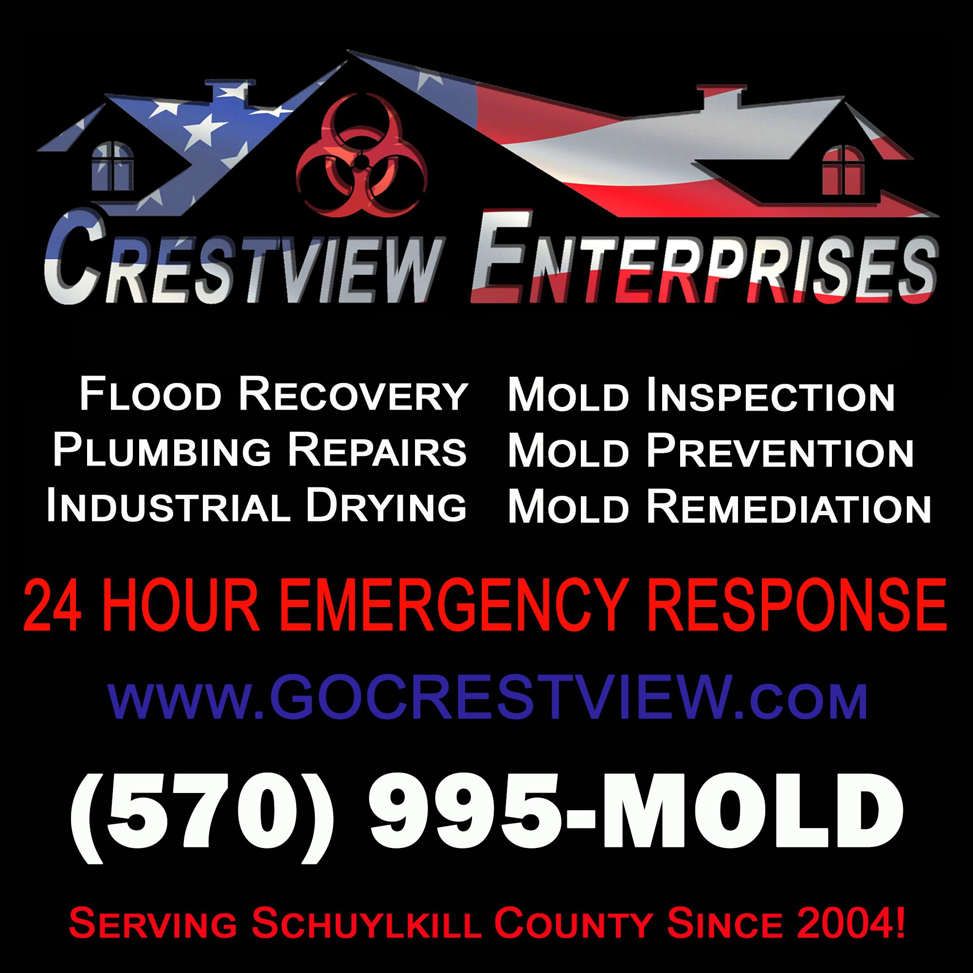 crestview mold water