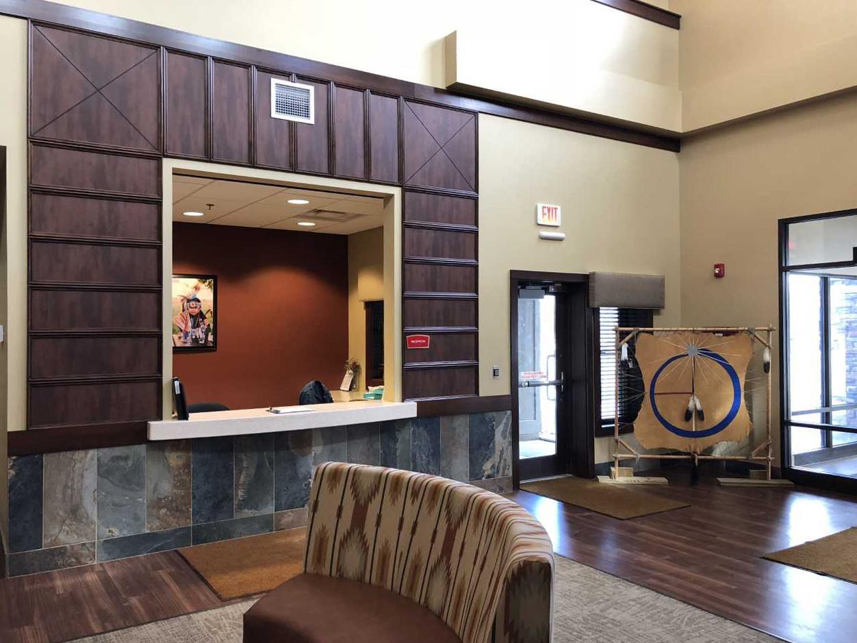 Oglala Sioux Nursing Home Front Desk