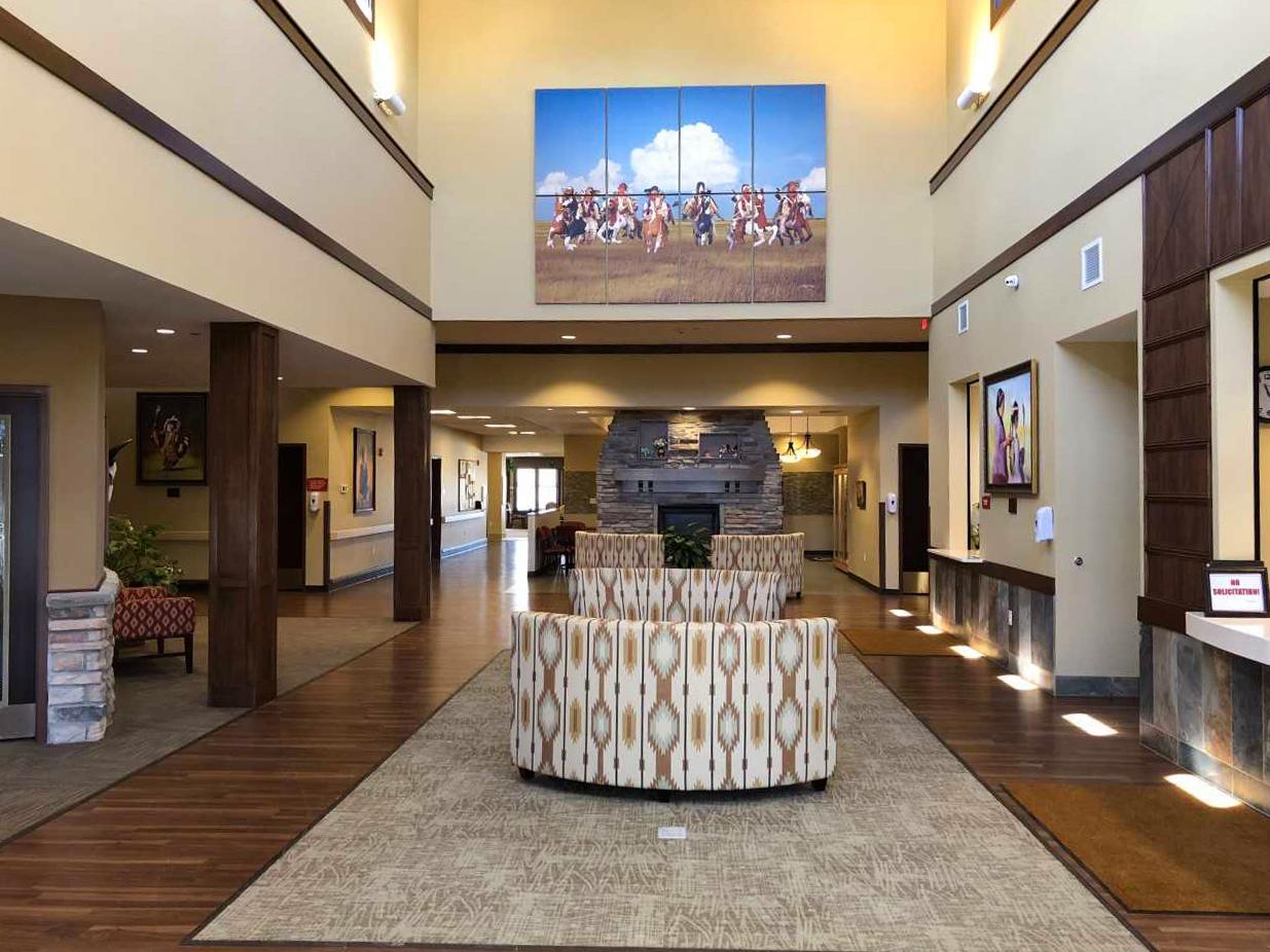 Oglala Sioux Nursing Home Inside