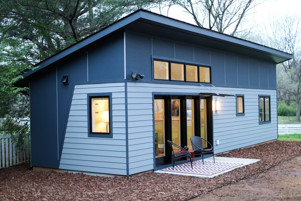 Alloy Workshop   Architecture and Construction   Design Build Firm   Charlottesville, Virginia   Accessory Dwelling Unit   Outside