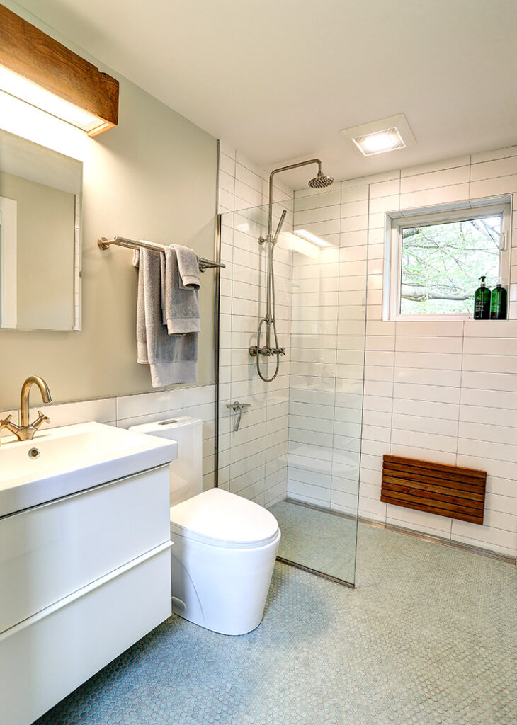 Alloy Workshop   Architecture and Construction   Design Build Firm   Charlottesville, Virginia   Accessory Dwelling Unit   Bathroom