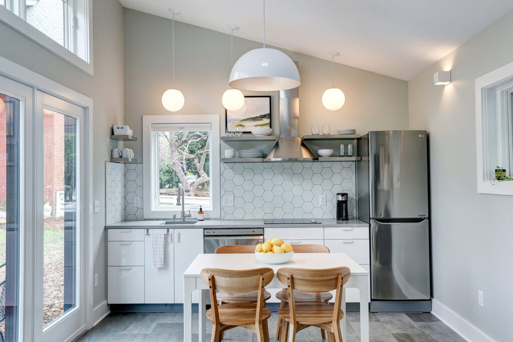 Alloy Workshop   Architecture and Construction   Design Build Firm   Charlottesville, Virginia   Accessory Dwelling Unit   Kitchen