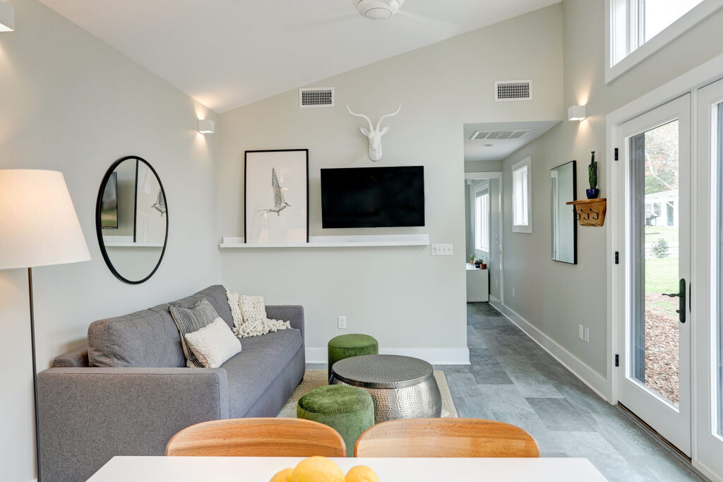 Alloy Workshop   Architecture and Construction   Design Build Firm   Charlottesville, Virginia   Accessory Dwelling Unit   Living Area