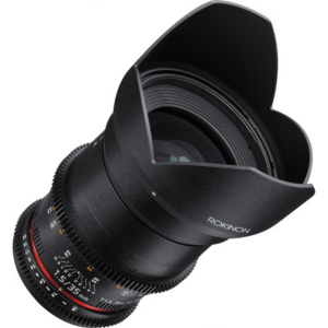 Rokinon DS35M 35mm T1.5 Full Frame Wide Angle Cine DS Lens front