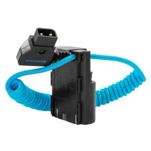 Kondor Blue D-Tap to Canon LPE6 Dummy Battery Cable