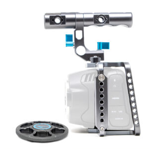 Kondor Blue Full Cage Special (Space Gray Full Cage for BMPCC 4K/6K & Canon EF Mount Body Cap)