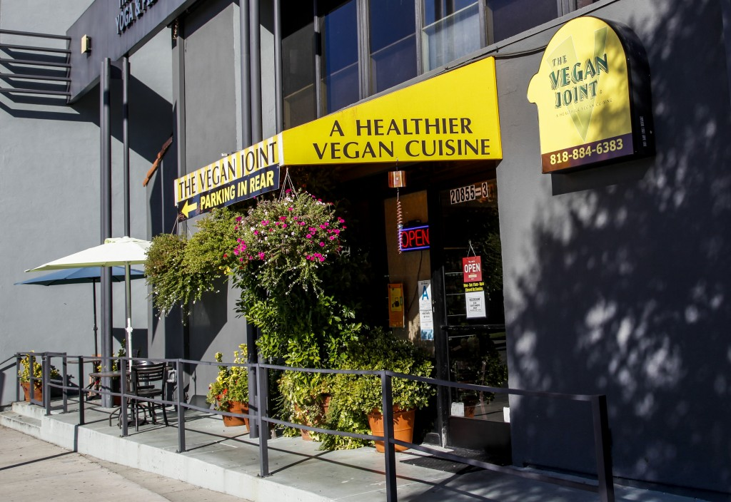 The Vegan Joint is located at the intersection of De Soto Avenue  and Ventura Boulevard in Woodland Hills, Calif. This is a 100 percent vegan eatery, with breakfast served all day. Oct. 14, 2013. Photo: Lynn Levitt
